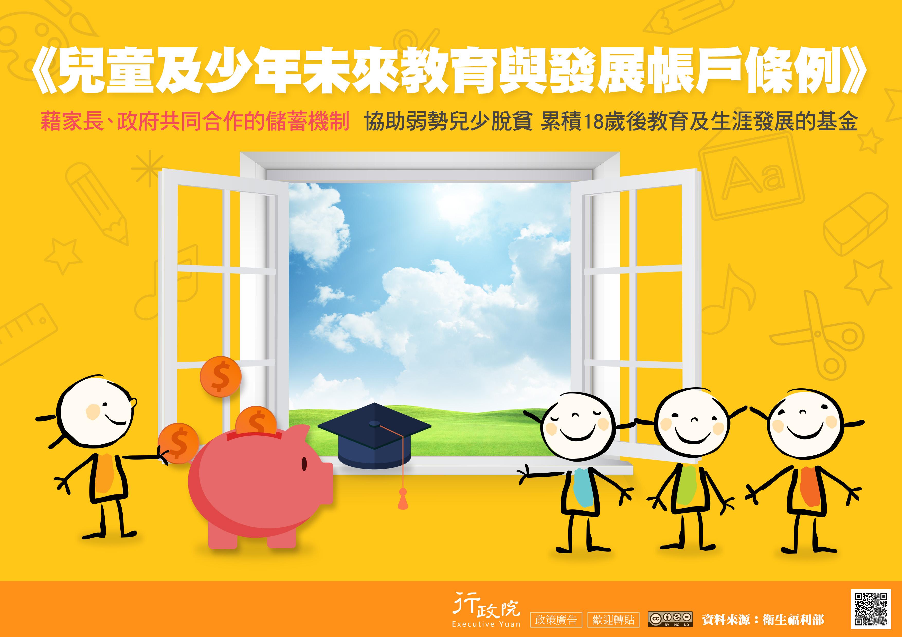 兒少未來教育與發展帳戶DM