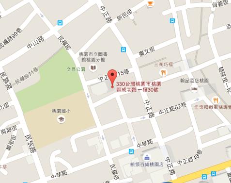 經發局商發科Google地圖