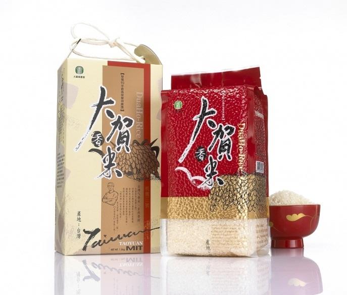 大園區品牌米-大賀香米照片