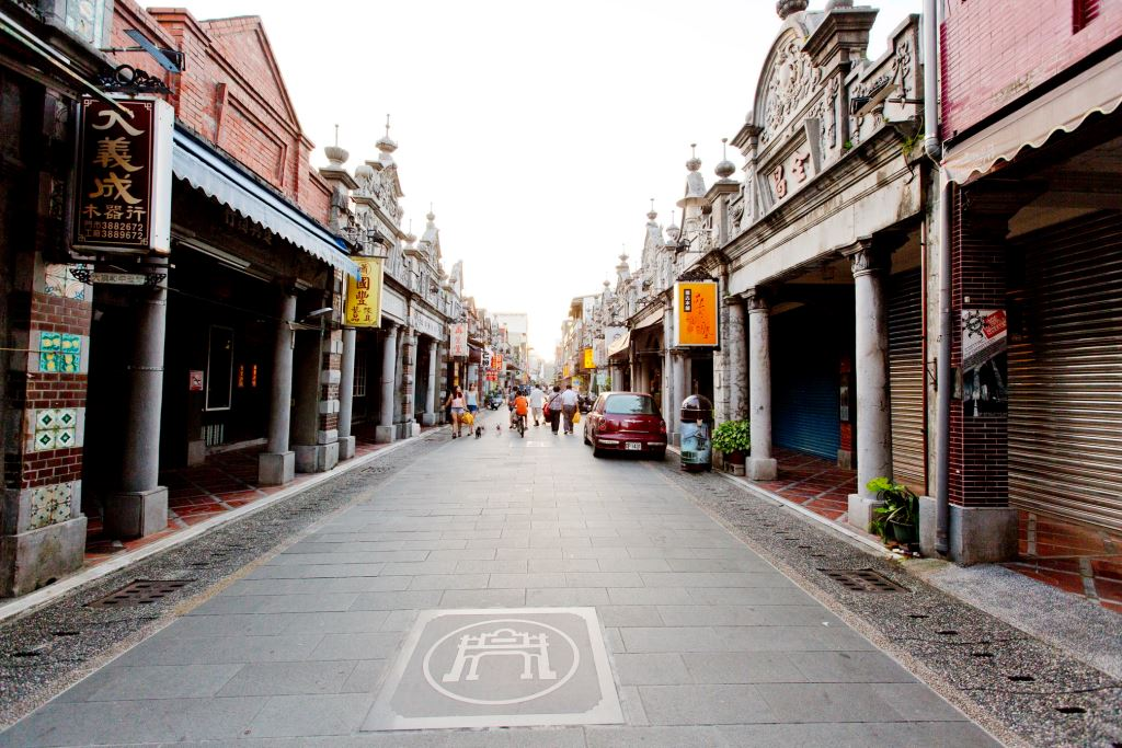 Daxi District old street