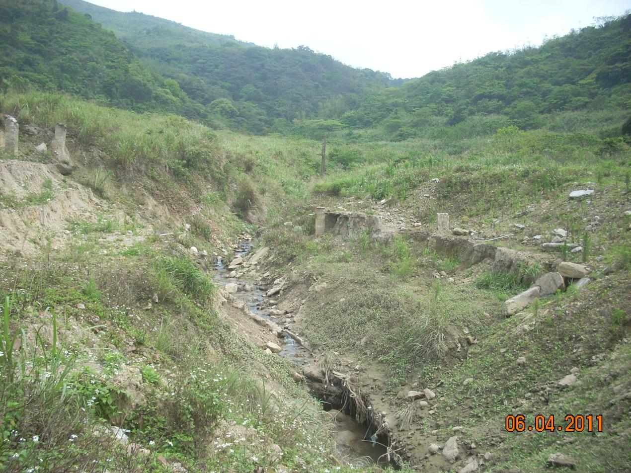 大青坑野溪整治工程-工程前