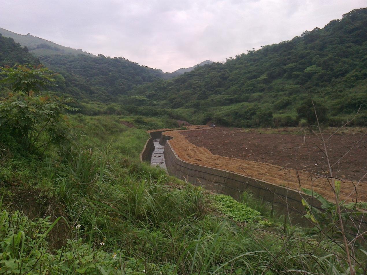 大青坑野溪整治工程-工程後