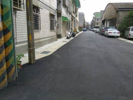 忠勇街完工