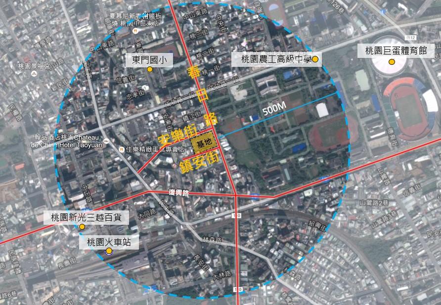 東門市場基地位置