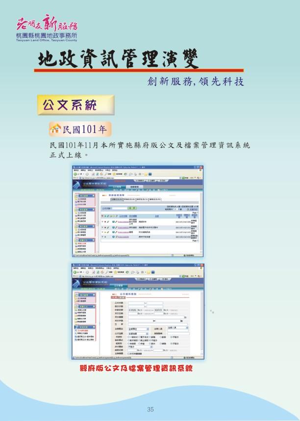 地政資訊篇-創新服務,領先科技6