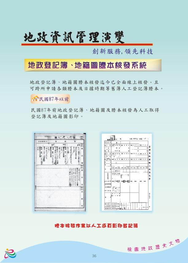 地政資訊篇-創新服務,領先科技7