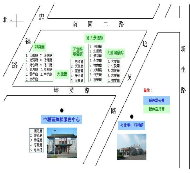 公民營位置圖