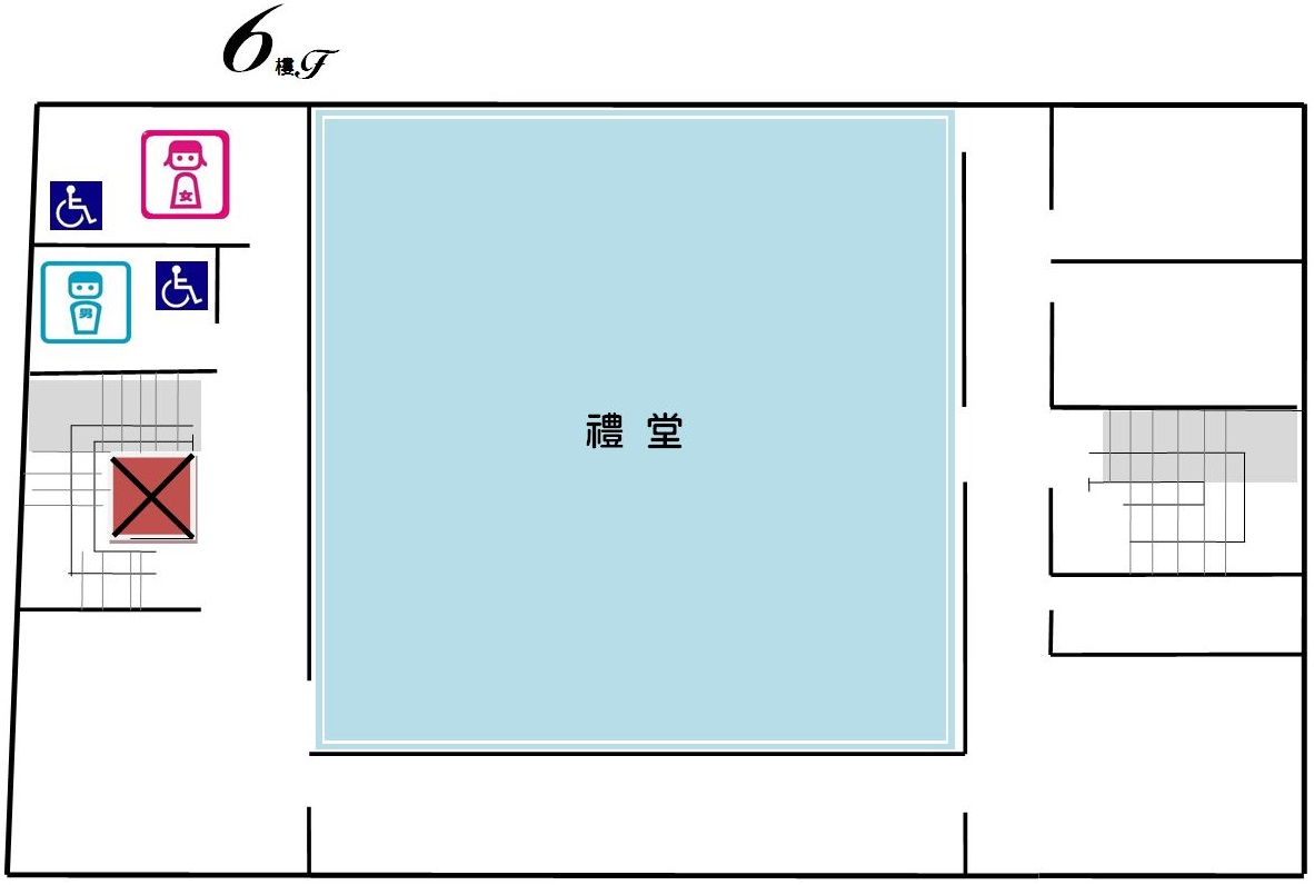 辦公室配置圖6F