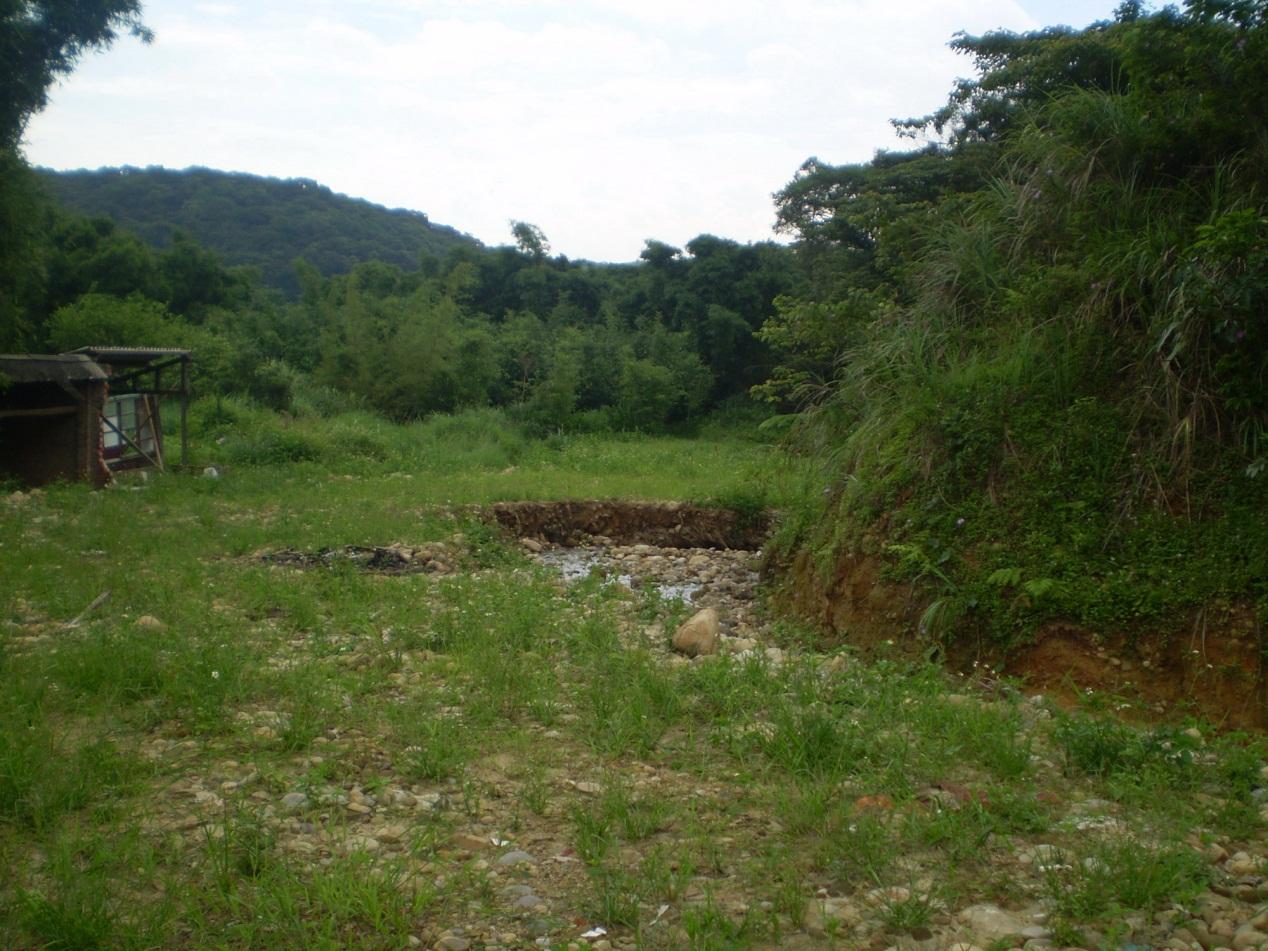 風尾坑野溪整治工程-工程前
