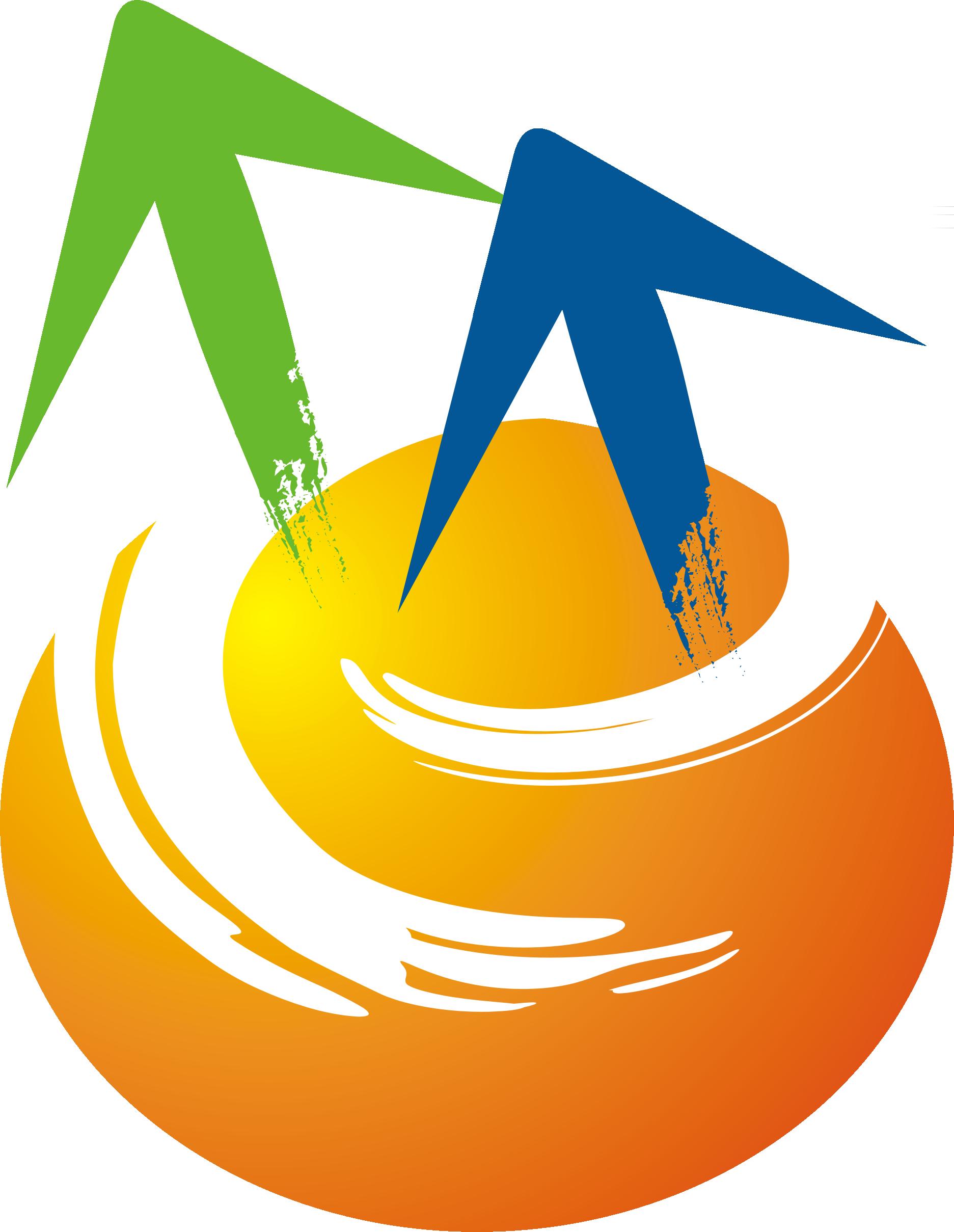 所徽Logo--中間有白色e字