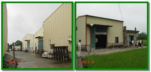 農牧用地興建鐵皮屋作工廠、倉庫使用
