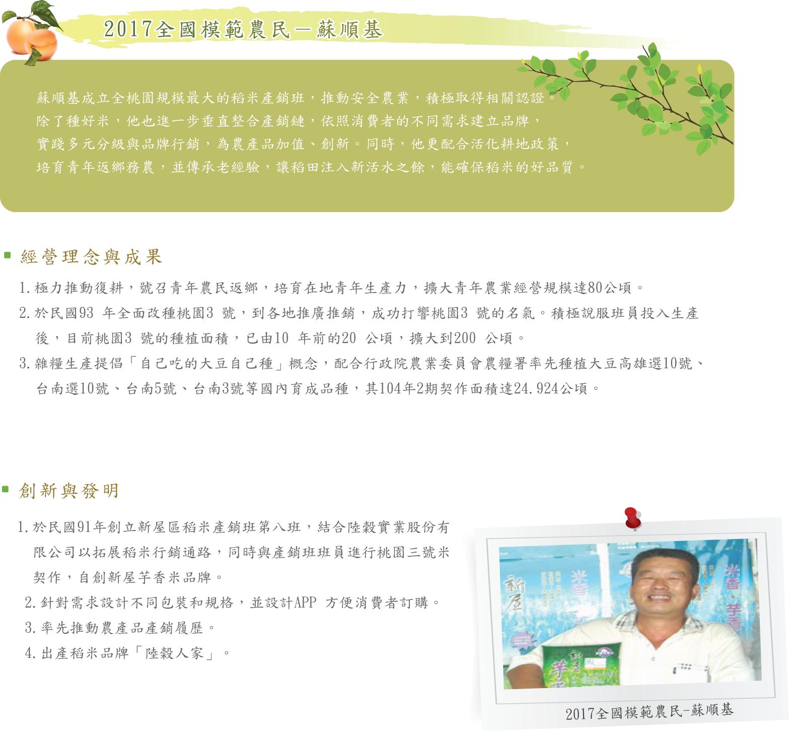 2017全國模範農民-蘇順基
