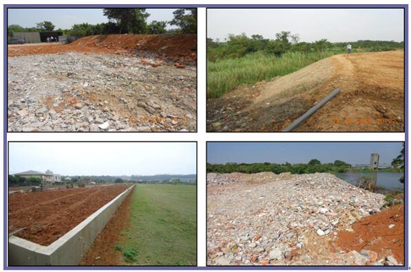農牧用地填土、堆置砂石使用