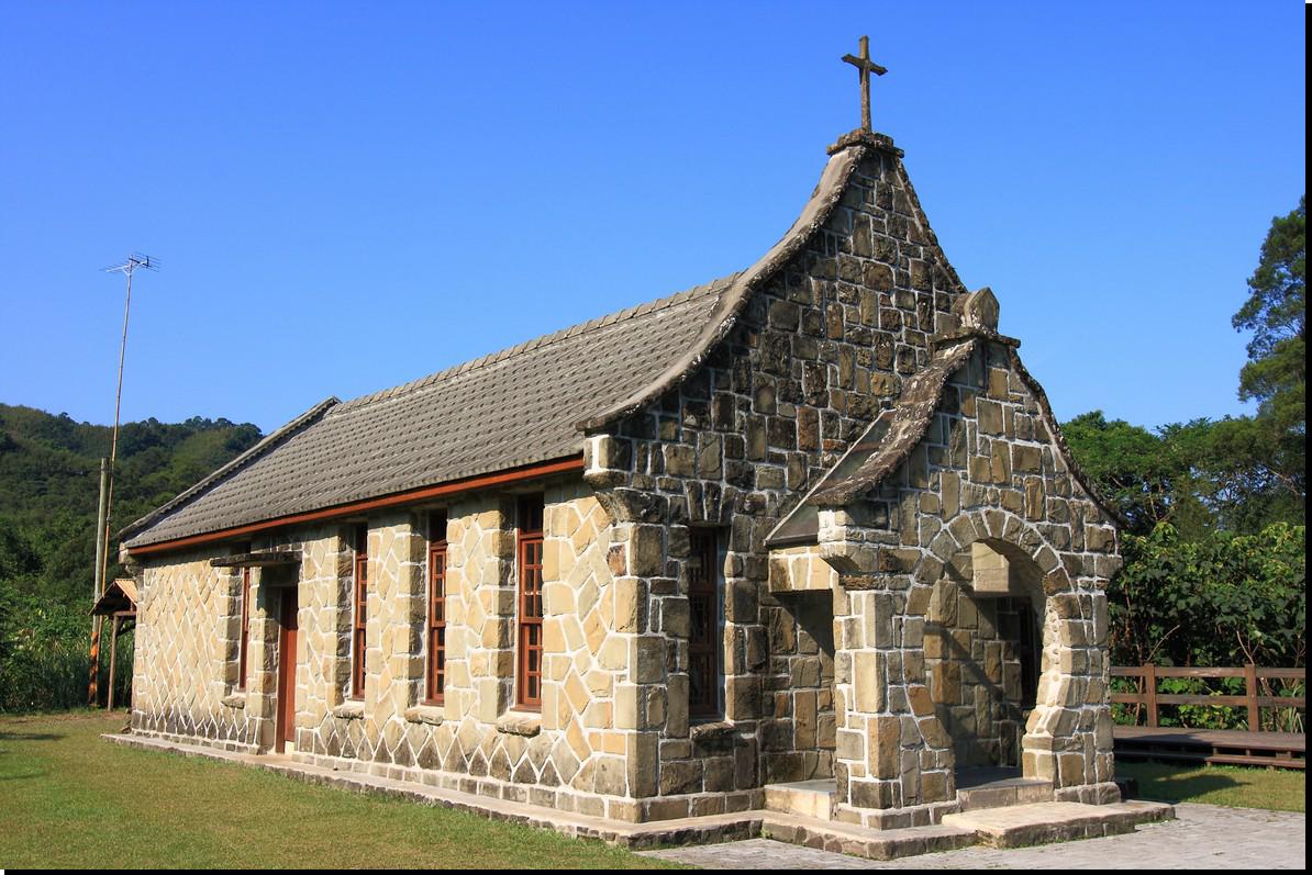 Jiguopai Old Church in the Aboriginal Tribe of Taoyuan
