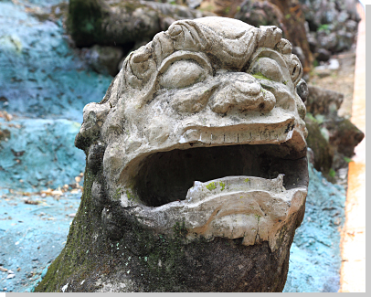 Stone Lions from Xianfeng Era