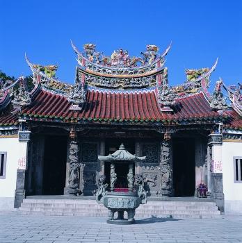 圖片描述:壽山巖觀音寺