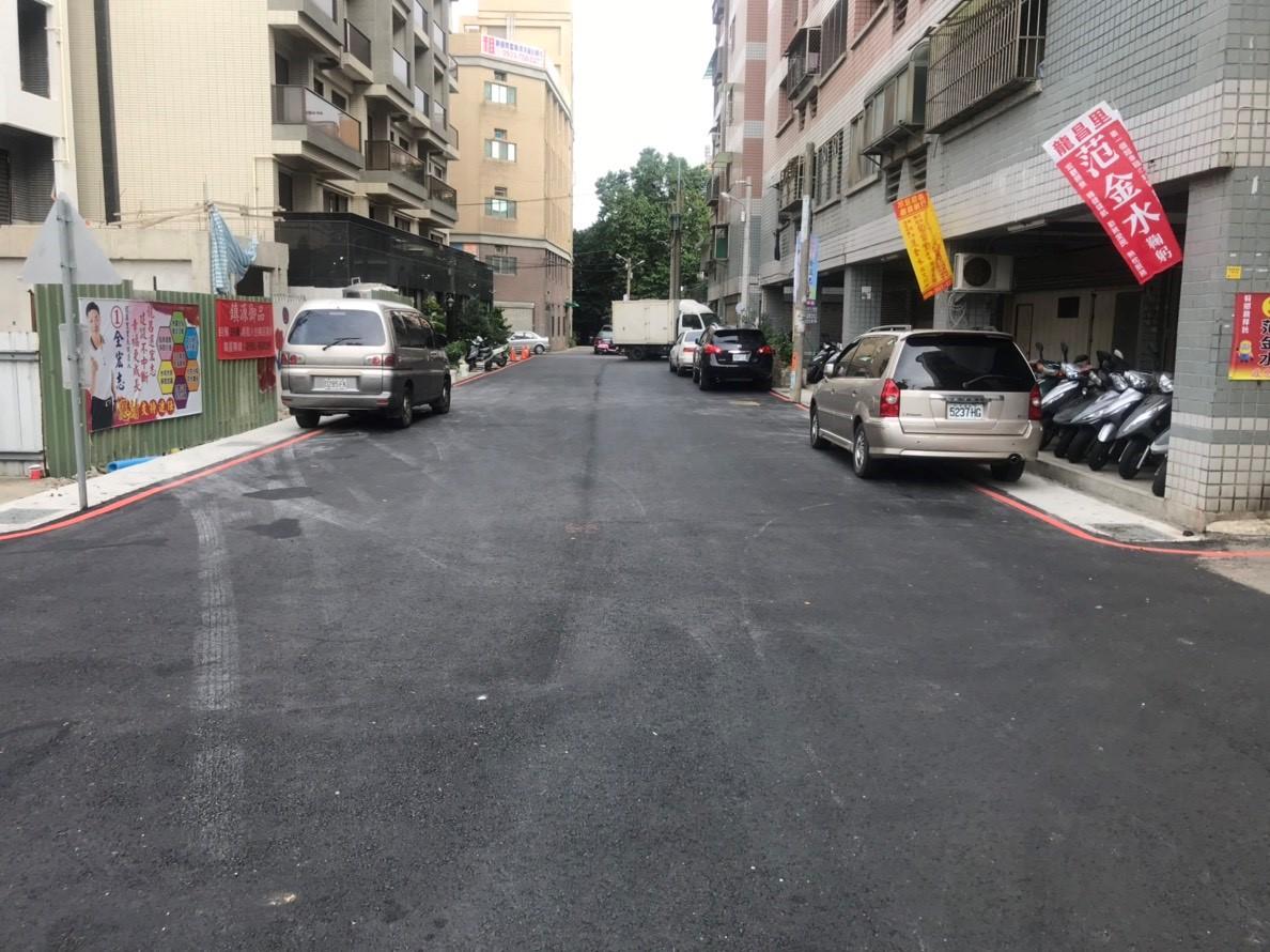 中壢區龍川三街拓寬工程範圍