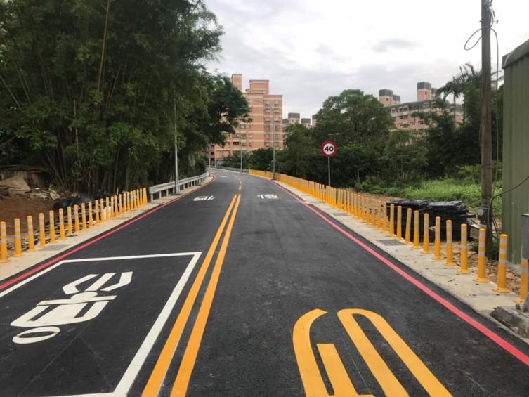 公九公園旁道工程範圍