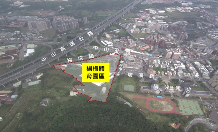 楊梅體育園區計畫範圍