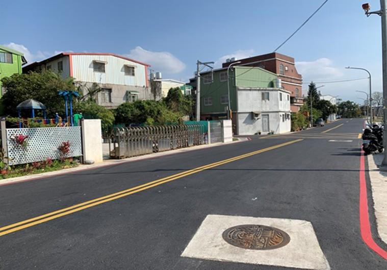 平鎮區華安街道路改善暨環境優化工程完工圖