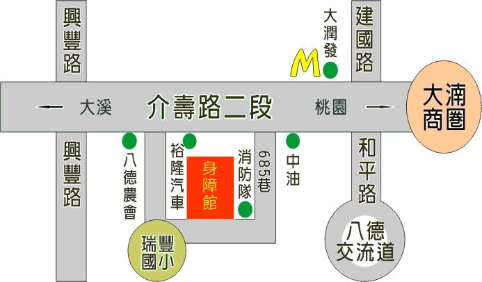交通位置地圖