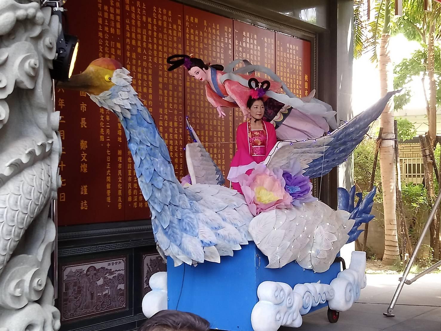 104年桃園市閩南文化節藝閣比賽參賽作品牛郎織女