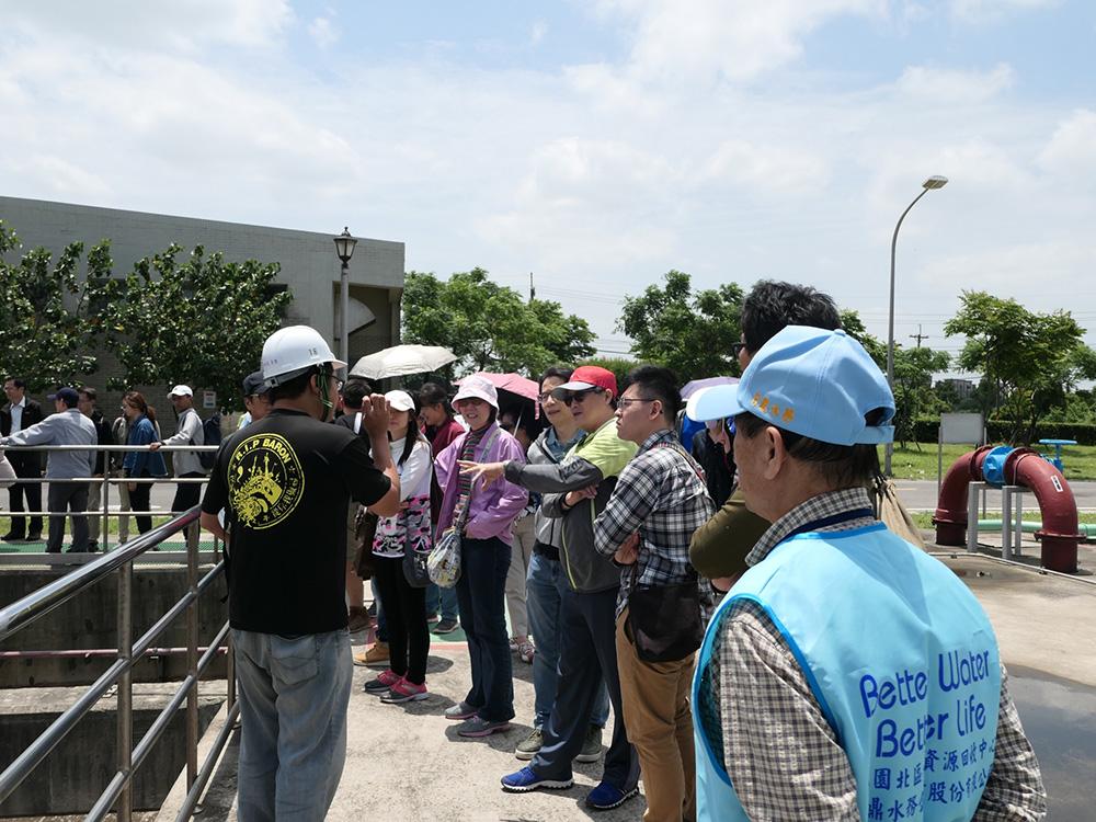 108年05月03日法務部矯正署環教參訪活動:生物處理單元導覽說明