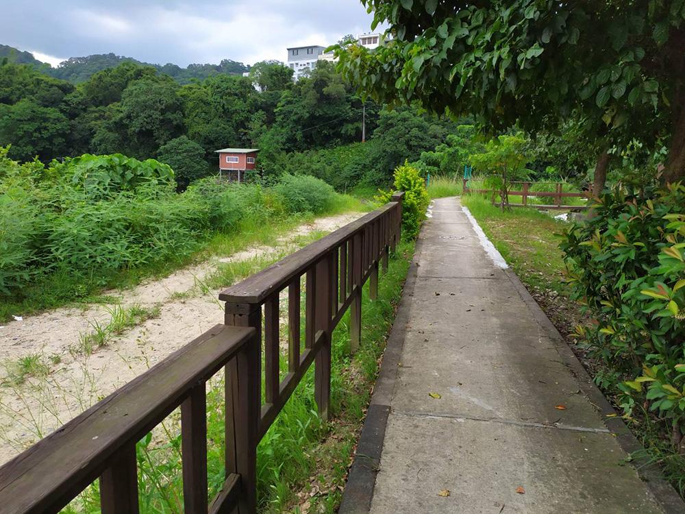 環場步道提供民眾休閒遊憩