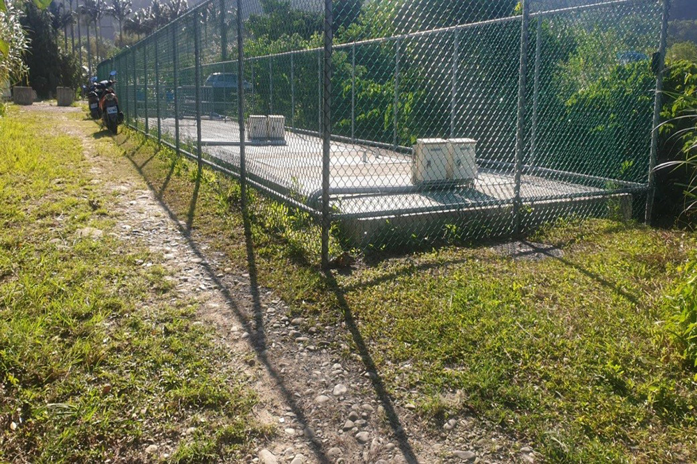 員樹林礫間處理系統:員樹林礫間處理系統水門設施