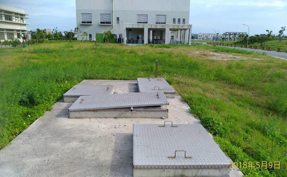 桃園北區水資源回收中心-取用地點照片-放流水取水口