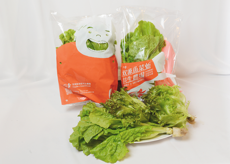 双源魚菜蚯共生農場-蔬菜袋