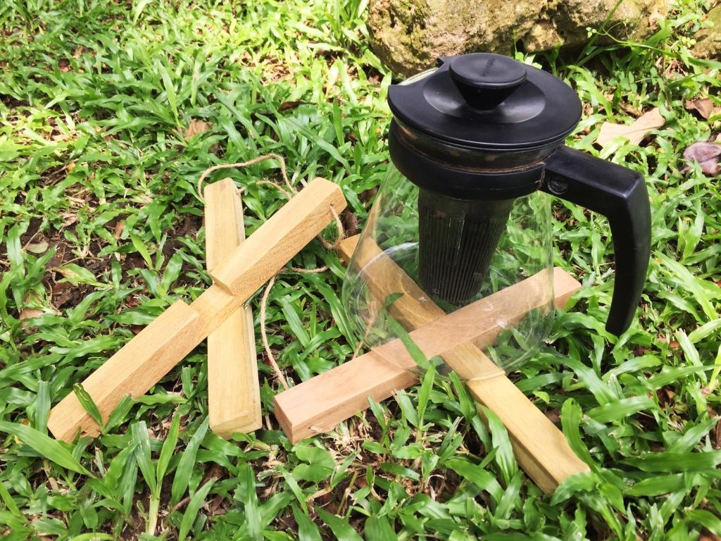 十字搭接鍋墊