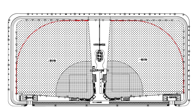 青埔慢速壘球場平面圖