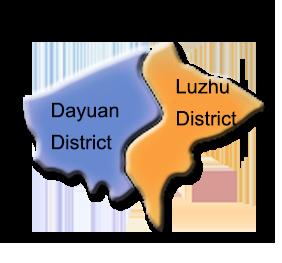 Luzhu district