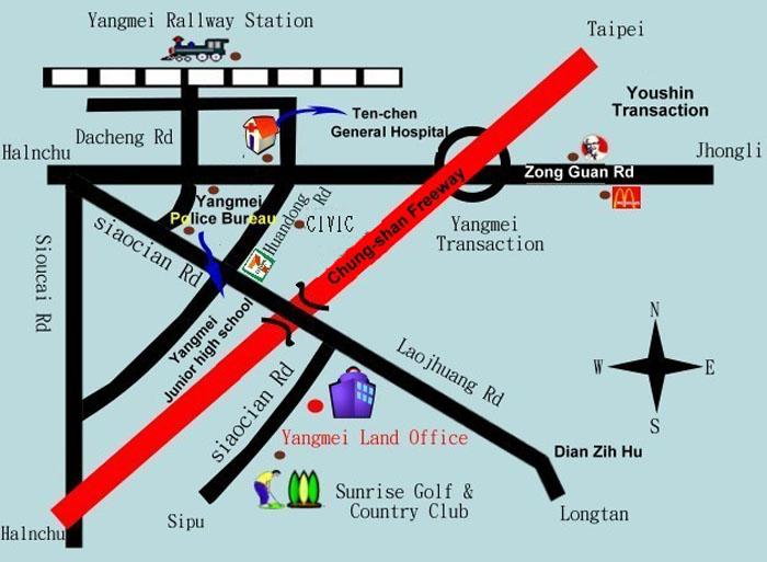 楊梅地所地圖