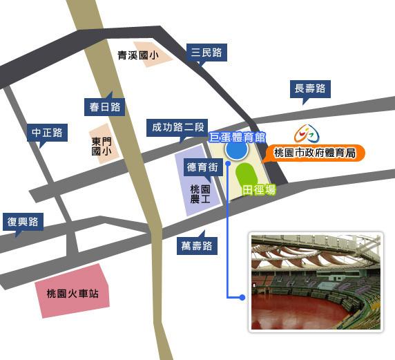 體育局地圖