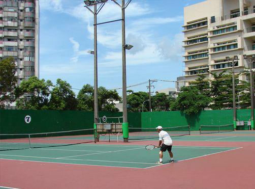 桃園市網球場