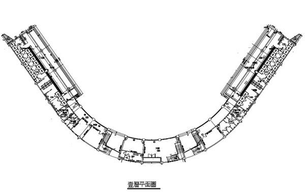 青埔運動公園棒球場一樓平面圖