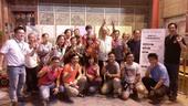 龍潭參與式預算投票圓滿成功合影。