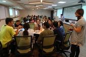 提案工作坊中,民眾針對提案討論交流