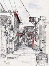 China Beijing Hutong