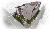 桃園市東門公有零售市場興建工程-完工示意圖