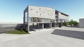 桃園市觀音區新坡多功能場館新建統包工程-完工透視圖