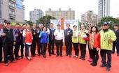 瑞塘國民小學活動中心新建工程及周邊環境改造工程-動土典禮-市長合照(1070118)