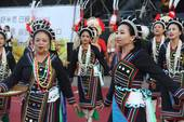 The actress of Taoyuan City Indigenous People International Music Festival