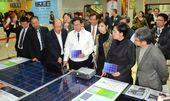 26日由鄭文燦市長啟動「日出桃園 綠能城市」計畫,宣佈全面推動桃園市公有及私有建築物設置太陽光電屋頂