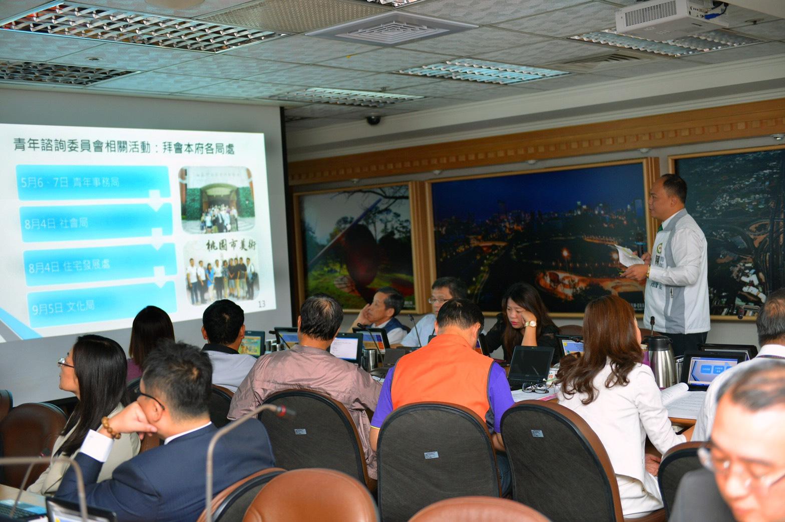 Deputy Mayor Yu: Local youths were invi...