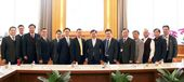 台北商務辦事處與桃園市府團隊