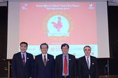 林知延副董事長、吳當傑董事長、鄭文燦市長、紀博偉主任