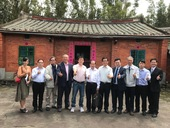 越南同塔省團晉寶副省長率團參訪林家古厝